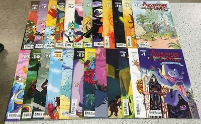 ADVENTURE TIME! Kaboom Comic Lot #6-23 Issues With Some Variants Annuals