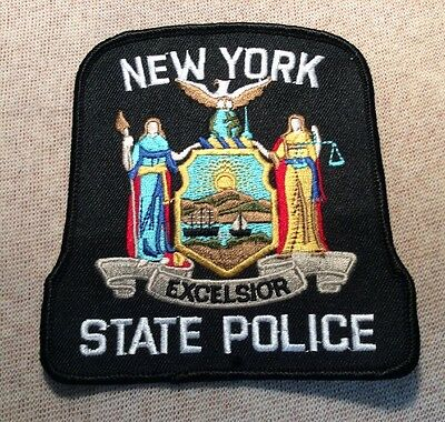 NY New York State Police Patch