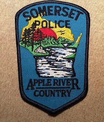 WI Somerset Wisconsin Police Patch