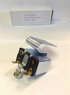 New Ford / Mercury Cougar Power Window Relay 1969-1973 Part # C8AB-14677-A