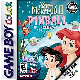 Disney's The Little Mermaid II: Pinball Frenzy ( Gameboy Color ) Advance SP