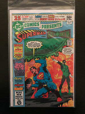 DC Comics Presents #26! VF - First Appearence Of Cyborg & New Teen Titans!