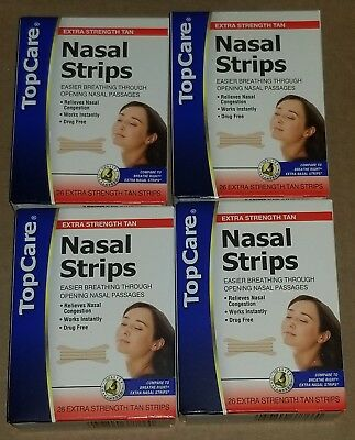 Compared to Breathe Right  Nasal Strips 26 Count Each, 4 Pack, 104 Strips
