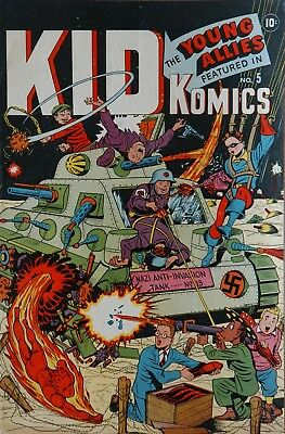 Kid Komics #5 (1944)  Photocopy Comic Book - Timely Comics