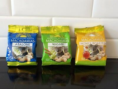 Suncoast Gold Macadamia Nuts (TRIPLE PACK)
