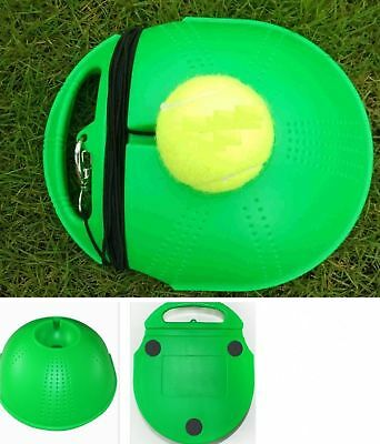 Tennis Training Tool with a ball Tennis Trainer Baseboard Sparring Device Sports