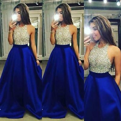 Beauty Women Formal Prom Cocktail Party Ball Gown Bridesmaid Long Dresses BC