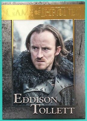 Game Of Thrones Season Five Gold Parallel #73 Eddison Tollett 052/150