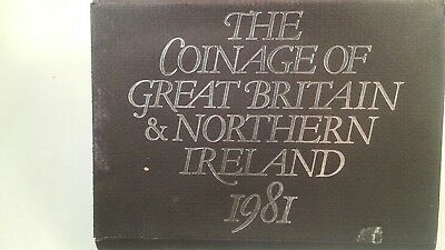 Great Britain 1981 Proof Set from original owner