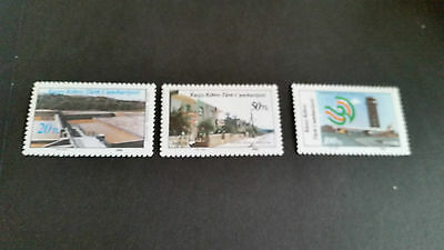 Turkish Cyprus 1986 Sg 197-199 Modern Development (1St Series) Mnh
