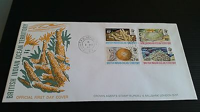 British Indian Ocean Territory 1972 Sg 41-44 Coral First Day Cover