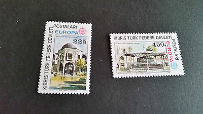 Turkish Cyprus 1978 Sg 63-64 Europa Mnh