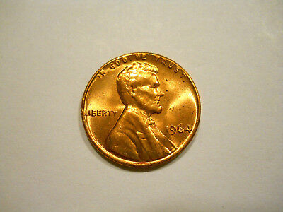 Uncirculated 1964-P Lincoln Memorial Cent