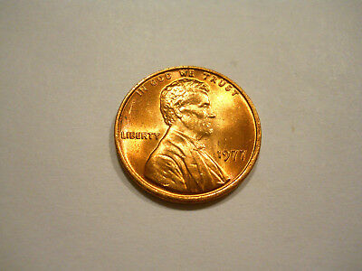Uncirculated 1977-P Lincoln Memorial Cent
