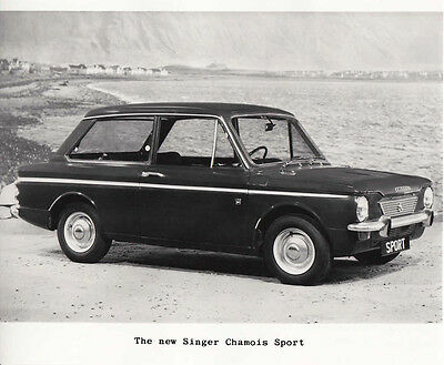 The New Singer Chamois Sport Period Photograph.