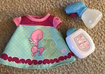 Baby Alive Poodle Dress & Baby Powder Bottle & Spray Bottle Pre-owned