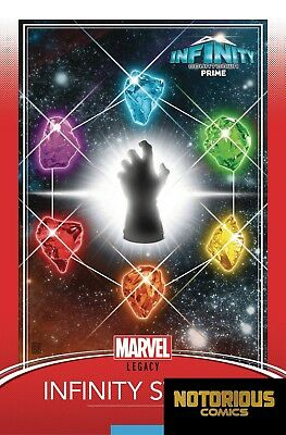 Infinity Countdown Prime #1 Trading Card Variant Marvel 1st Print 02/21