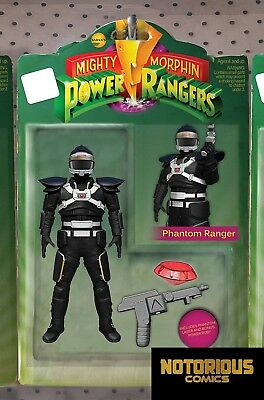 Mighty Morphin Power Rangers #24 Action Figure Variant Boom 1st Print 02/21