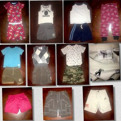 Lot of 15 Pieces Of Baby Boys Clothes Sizes 18 Mos Different Brands (BB06)