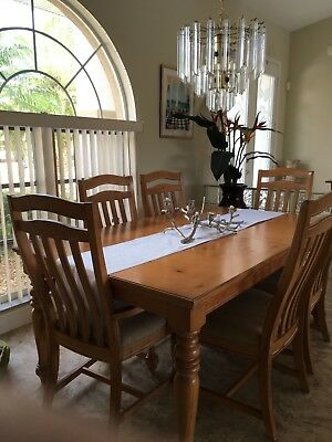 Harvest Style dining room set