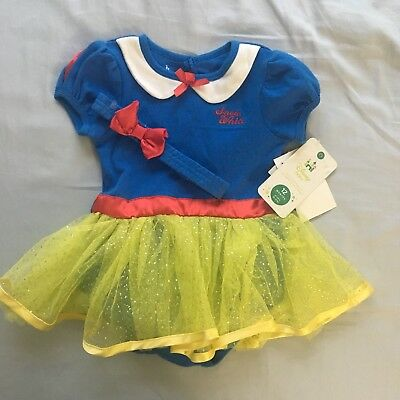 Disney Snow White Infant Costume Nwt 12 Months