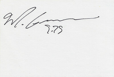 White card signed by athlete ~ Maurice Greene