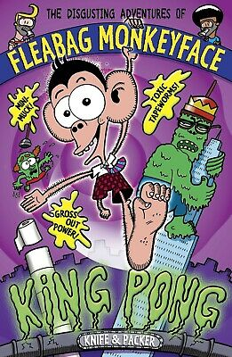 King Pong (The Disgusting Adventures of Fleabag ... by Packer, Knife Paperback