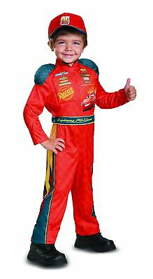 Cars 3 Lightning Mcqueen Classic Toddler Costume, Red, Small (2T) Disney/Pixar