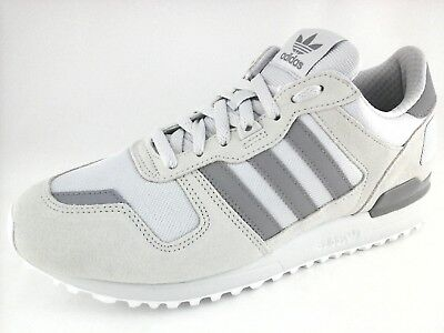 ADIDAS ZX700 Mens S76178 Classic shoes Sneakers Silver Gray Size US 10 , 14 NWOB