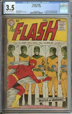 Flash #105 Cgc 3.5 Cr/ow Pages