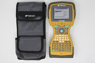 Topcon FC-2500 GPS GNSS Total Station Collector w/ TopSurv 8