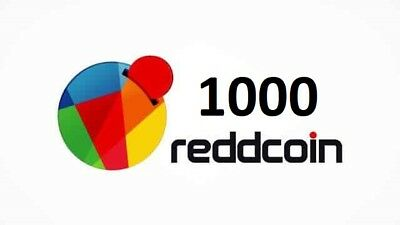 1000 Reddcoin (RDD) - Cryptocurrency - bitcoin