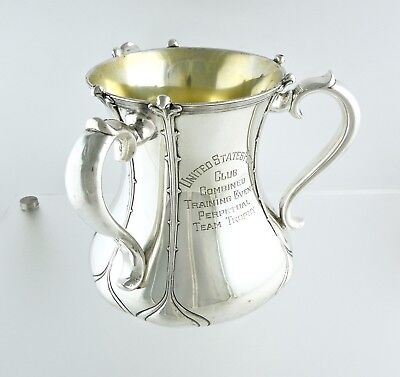 ✰ US Pony Club | Sterling Silver Tiffany & Co. Antique Vase / Trophy 671 grams ✰
