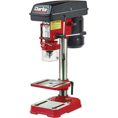 Clarke CDP5RB 5 Speed Bench Mounted Pillar Drill (Red) 6550035