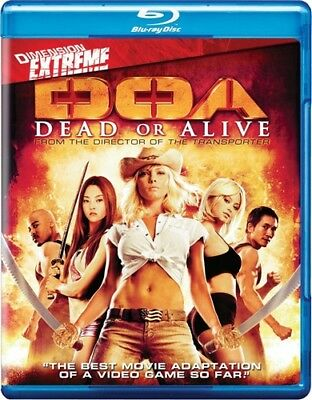 DOA DEAD OR ALIVE New Sealed Blu-ray