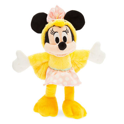 Disney Parks Minnie Mouse Chick Plush Happy Easter New With Tags