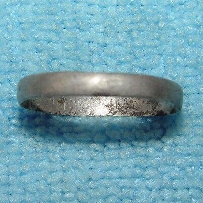ANCIENT ROMAN SILVER WEARABLE FINGER RING 1 - 3rd CENTURY AD - D243