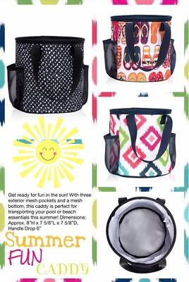 Thirty One Gifts Shower Beach Camping Summer Fun Caddy Lil' Scribbles