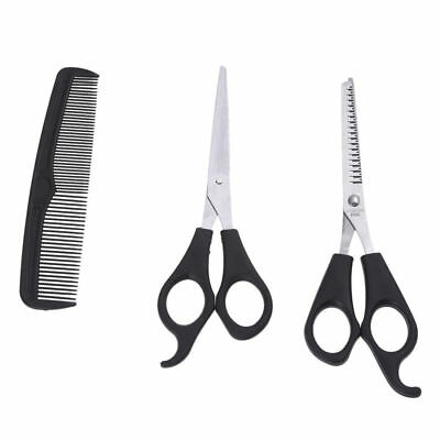 Pro 3 Pcs Hairdressing Set Hair Cutting Scissor and Thinning Scissors + Comb