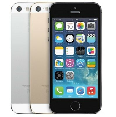 APPLE iPHONE 5S All Colour/Grades 16/32/64 GB   - Unlocked  Smartphone Mobile