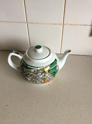 Paul Cardew Stunning London Knightsbridge Map Teapot