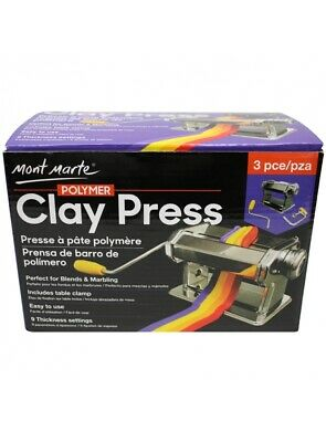 Mont Marte Polymer Clay Press - Rolling / Conditioning Machine