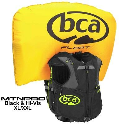 BCA Float MtnPro Vest Mountain Avalanche Airbag Backpack & Cyl XL/XXL - 7639-892