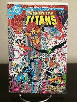 Dc Comics The New Teen Titans #13 (1985) Comic Book Marv Wolfman Nm-/nm