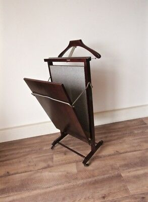 Vintage Gentleman's Valet Clothing Stand with Trouser Press by Regutti Italy