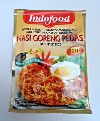 1 X Indofood - Nasi Goreng Pedas Hot Fried Rice Seasoning 50 Gram - Free Post