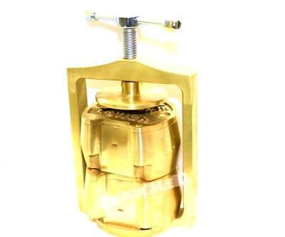 1 Brand New Premium Original Brass Dental Laboratory Double Lab Press Compress