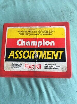 Vintage Champion Assortment Automotive Fixit Kit