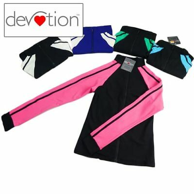 Womens/Teens Active Wear Contrast Jacket Yoga Running Walking Workout size small