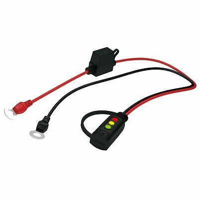 CTEK Comfort Connect Charge Indicator - Eyelet M8 (8.4mm) / 50cm Cable /15A Fuse